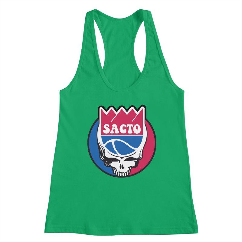 The Grateful Sacto Women's Tank by Mike Hampton's T-Shirt Shop