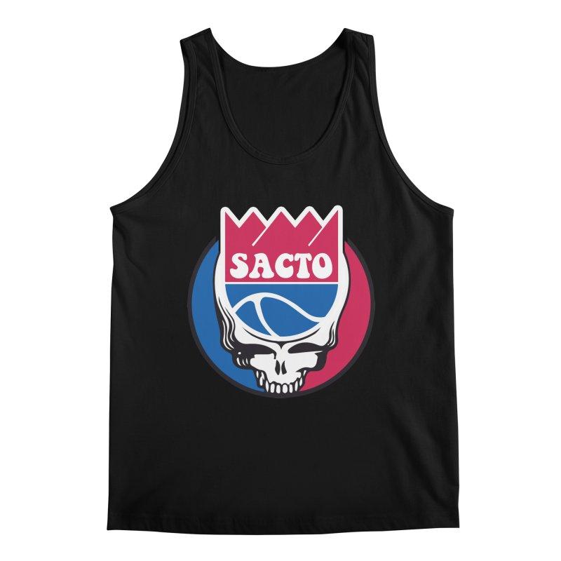 The Grateful Sacto Men's Regular Tank by Mike Hampton's T-Shirt Shop