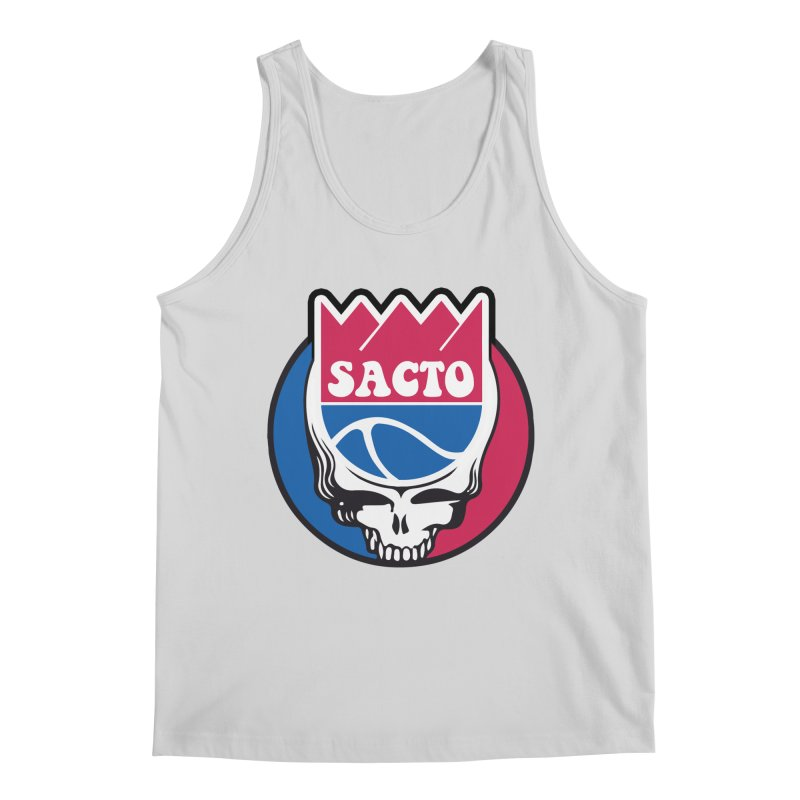 The Grateful Sacto Men's Tank by Mike Hampton's T-Shirt Shop