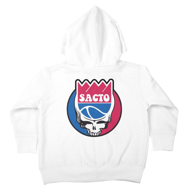 The Grateful Sacto Kids Toddler Zip-Up Hoody by Mike Hampton's T-Shirt Shop