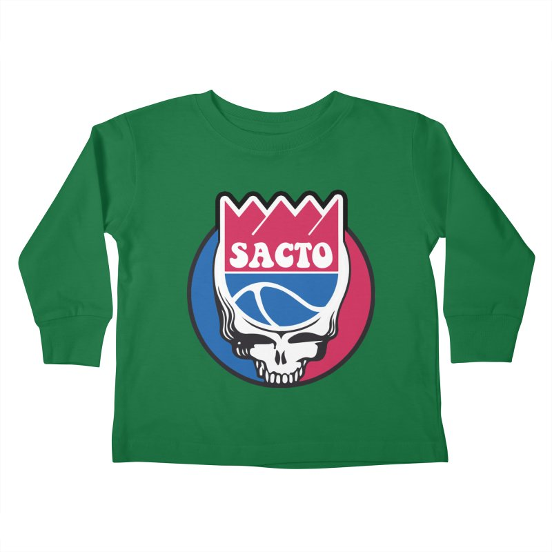 The Grateful Sacto Kids Toddler Longsleeve T-Shirt by Mike Hampton's T-Shirt Shop