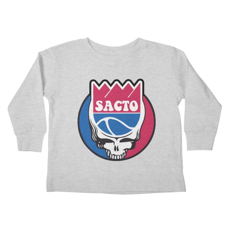 The Grateful Sacto Kids Toddler Longsleeve T-Shirt by Mike Hampton's T-Shirt Shop
