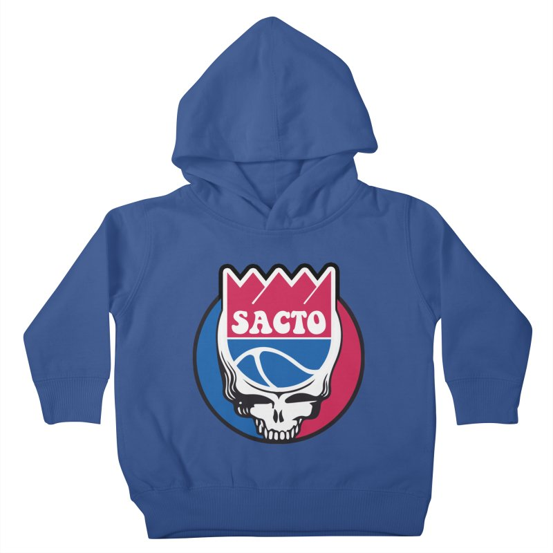 The Grateful Sacto Kids Toddler Pullover Hoody by Mike Hampton's T-Shirt Shop