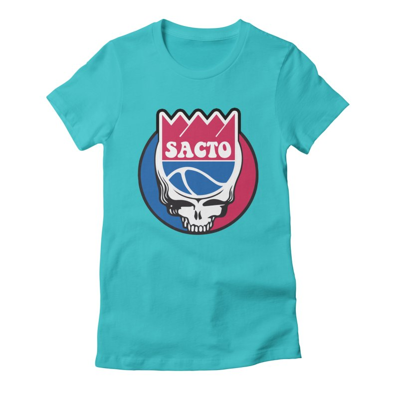 The Grateful Sacto Women's T-Shirt by Mike Hampton's T-Shirt Shop