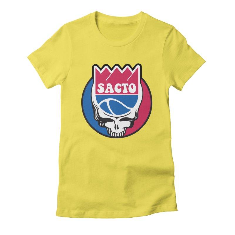 The Grateful Sacto Women's T-Shirt by Mike Hampton's T-Shirt Shop