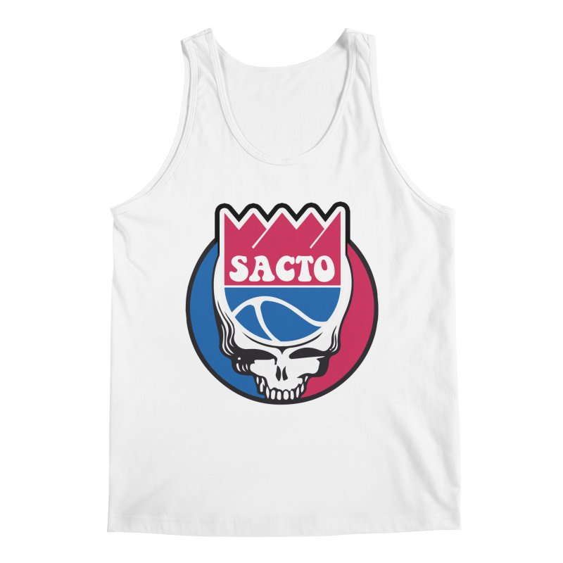 The Grateful Sacto Men's Regular Tank by Mike Hampton's T-Shirt Shop