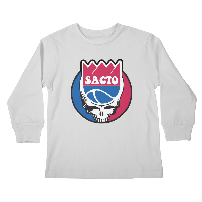 The Grateful Sacto Kids Longsleeve T-Shirt by Mike Hampton's T-Shirt Shop
