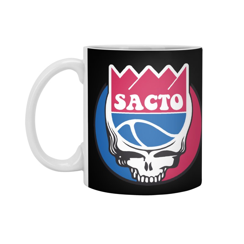 The Grateful Sacto Accessories Standard Mug by Mike Hampton's T-Shirt Shop