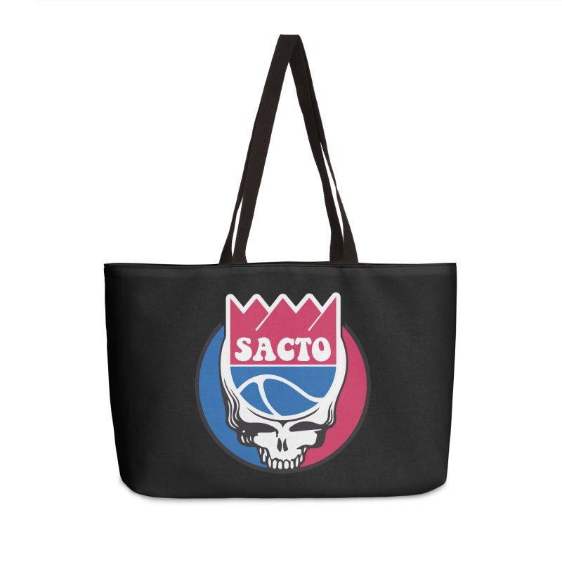 The Grateful Sacto Accessories Weekender Bag Bag by Mike Hampton's T-Shirt Shop