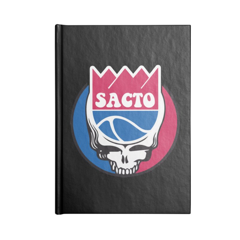 The Grateful Sacto Accessories Lined Journal Notebook by Mike Hampton's T-Shirt Shop