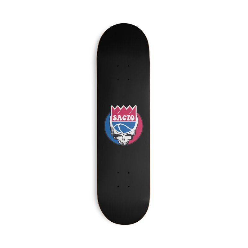 The Grateful Sacto Accessories Skateboard by Mike Hampton's T-Shirt Shop