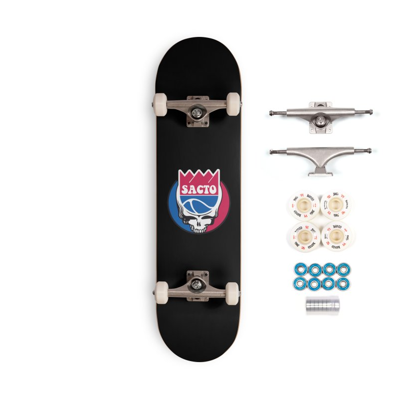 The Grateful Sacto Accessories Complete - Premium Skateboard by Mike Hampton's T-Shirt Shop