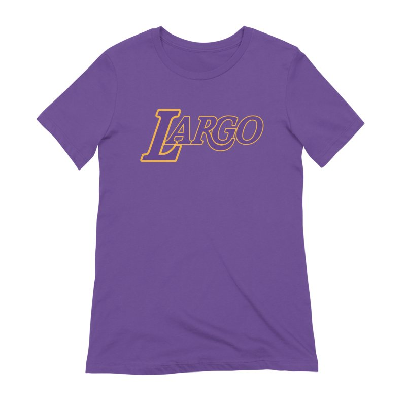Laaaaargo Women's Extra Soft T-Shirt by Mike Hampton's T-Shirt Shop