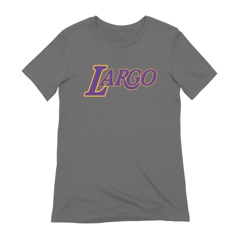 Laaaaargo Women's T-Shirt by Mike Hampton's T-Shirt Shop
