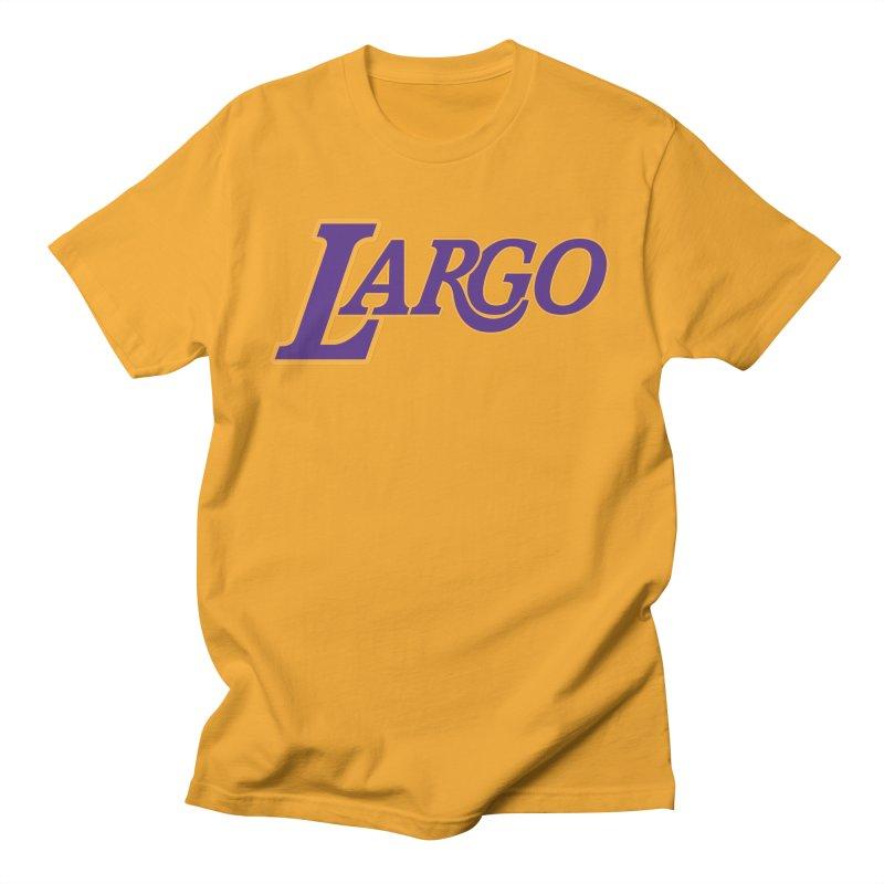 Laaaaargo Men's T-Shirt by Mike Hampton's T-Shirt Shop