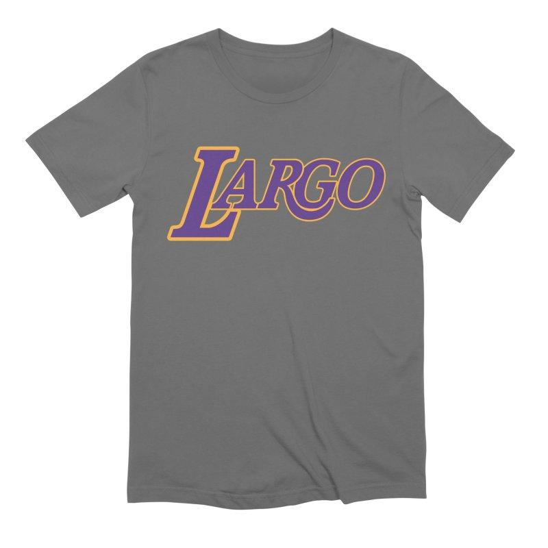Laaaaargo Men's Extra Soft T-Shirt by Mike Hampton's T-Shirt Shop