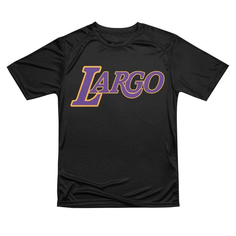 Laaaaargo Men's Performance T-Shirt by Mike Hampton's T-Shirt Shop