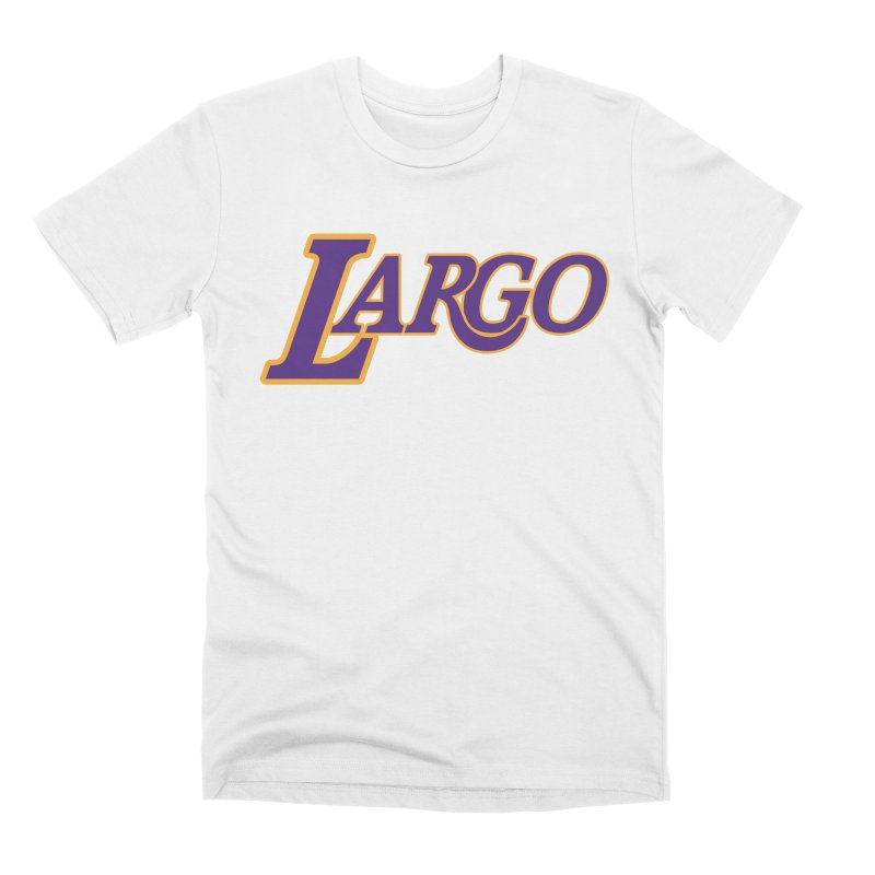 Laaaaargo Men's Premium T-Shirt by Mike Hampton's T-Shirt Shop