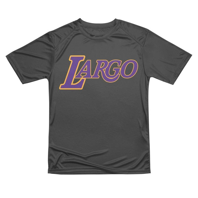 Laaaaargo Men's Performance T-Shirt by Mike Hampton's T-Shirt Shop
