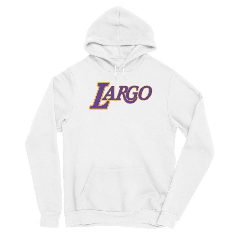 Laaaaargo Women's Pullover Hoody by Mike Hampton's T-Shirt Shop