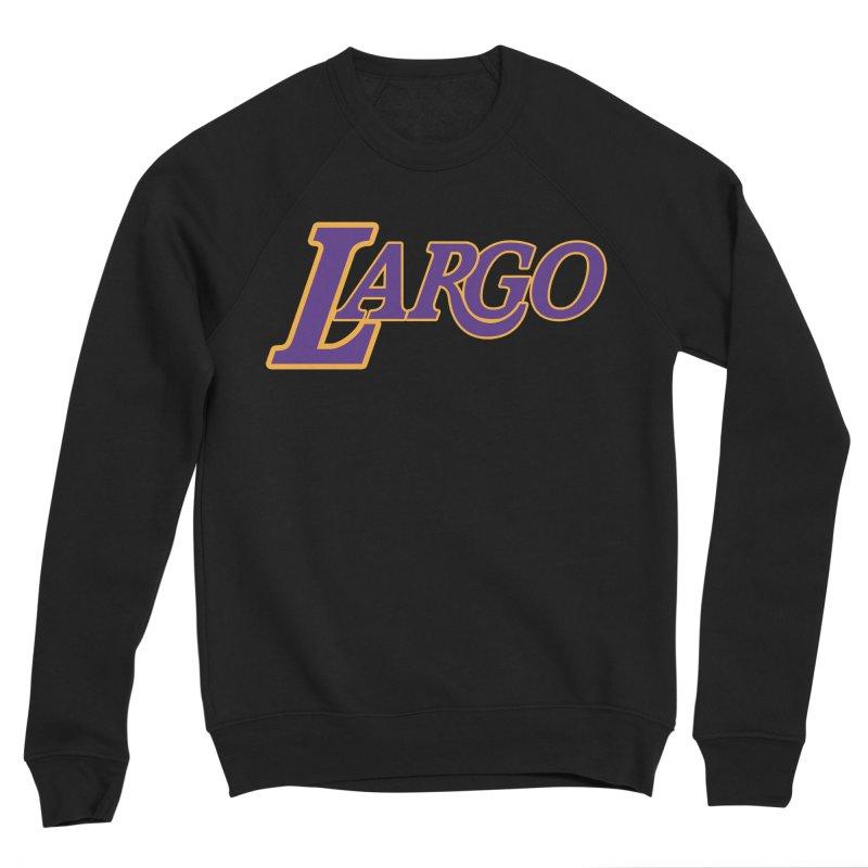 Laaaaargo Women's Sponge Fleece Sweatshirt by Mike Hampton's T-Shirt Shop