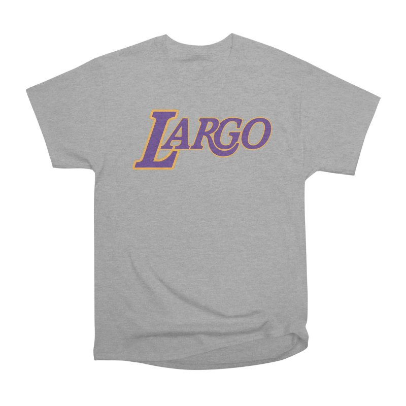 Laaaaargo Men's Heavyweight T-Shirt by Mike Hampton's T-Shirt Shop