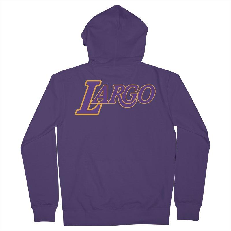 Laaaaargo Women's Zip-Up Hoody by Mike Hampton's T-Shirt Shop