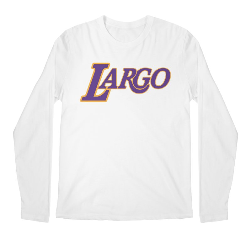 Laaaaargo Men's Longsleeve T-Shirt by Mike Hampton's T-Shirt Shop