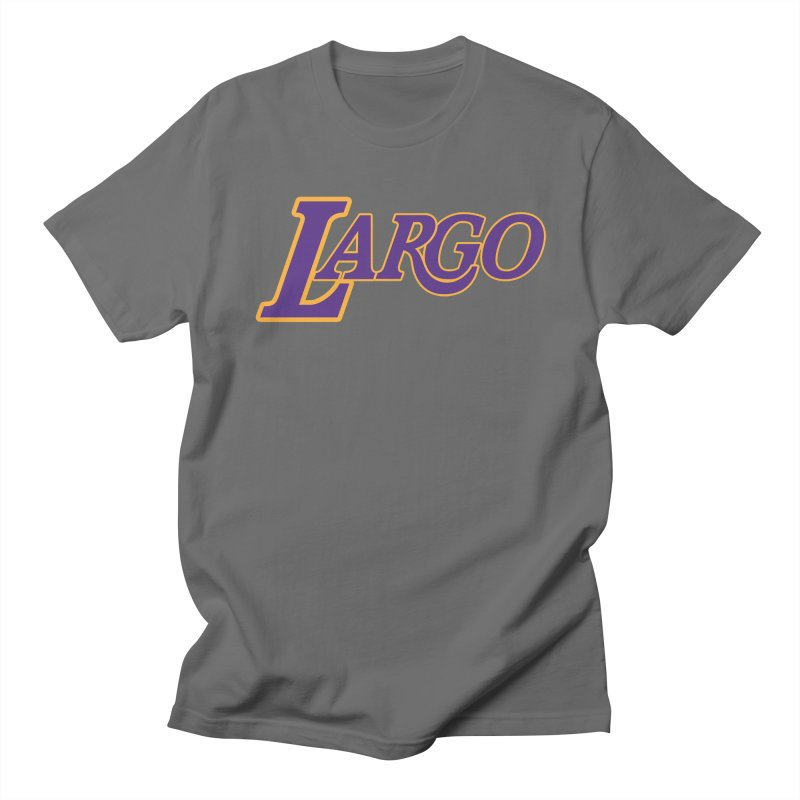 Laaaaargo Men's T-Shirt by Mike Hampton's T-Shirt Shop