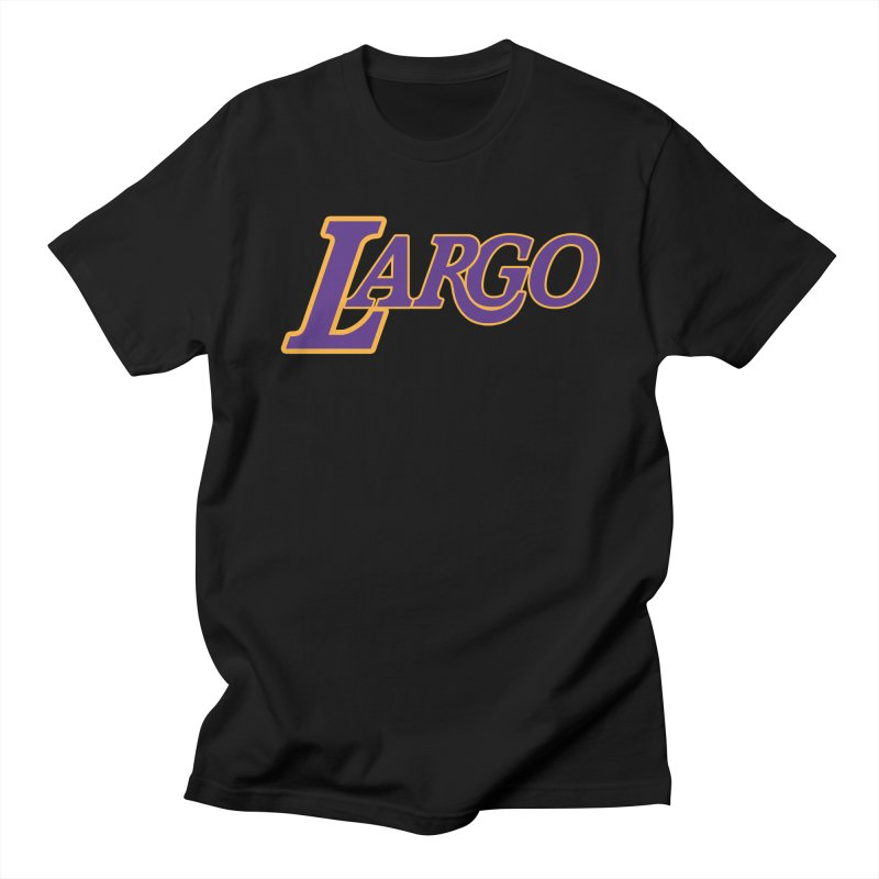 Laaaaargo Men's Regular T-Shirt by Mike Hampton's T-Shirt Shop