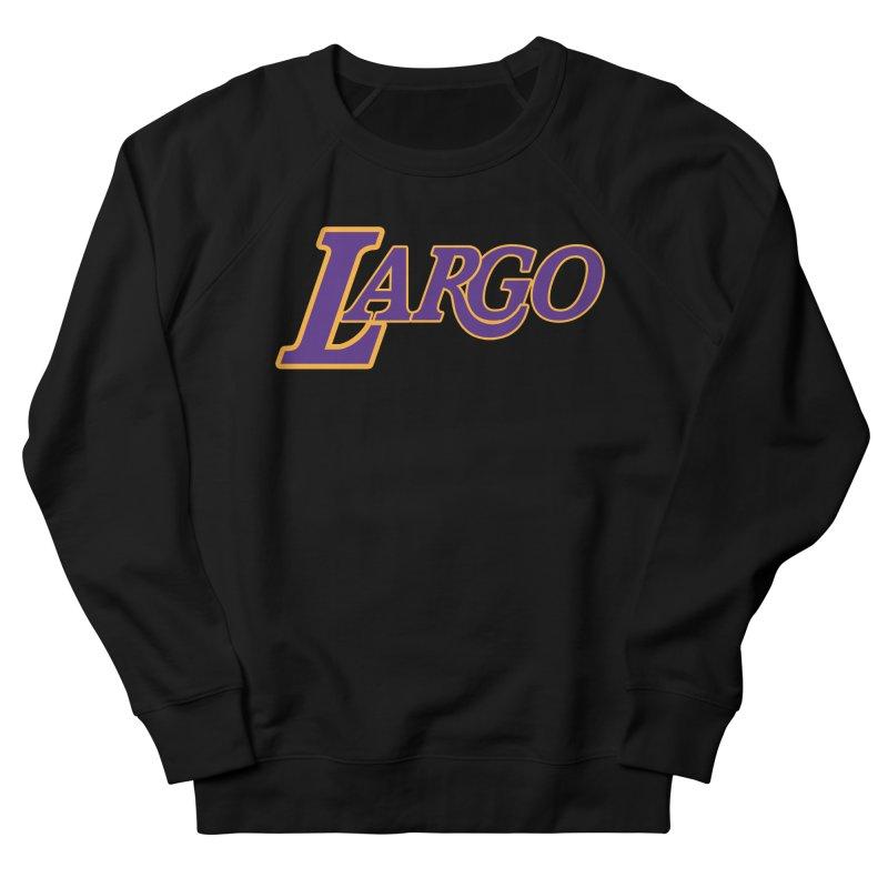 Laaaaargo Women's French Terry Sweatshirt by Mike Hampton's T-Shirt Shop