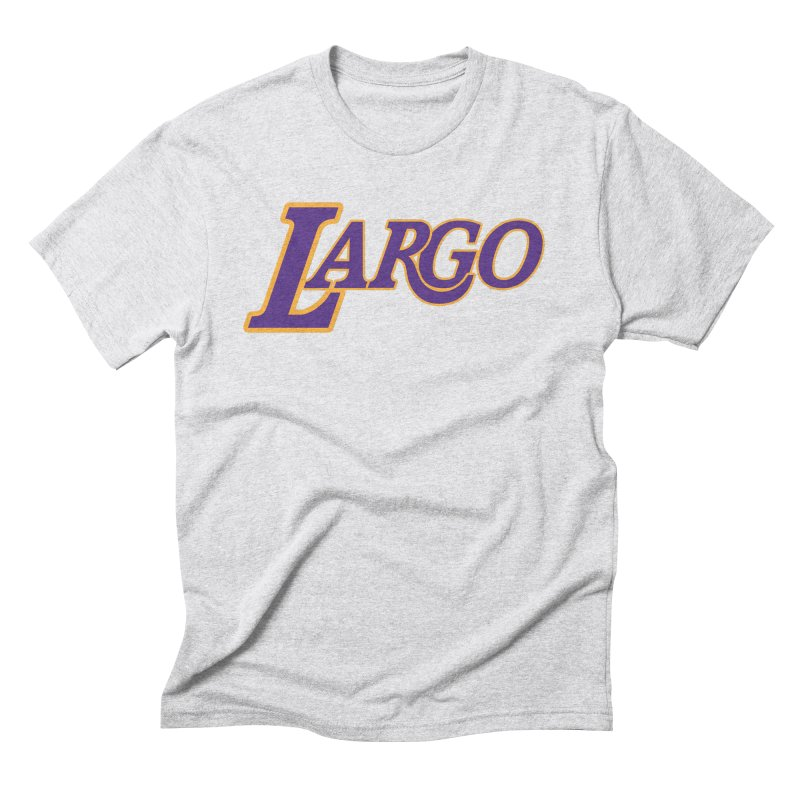 Laaaaargo Men's Triblend T-Shirt by Mike Hampton's T-Shirt Shop