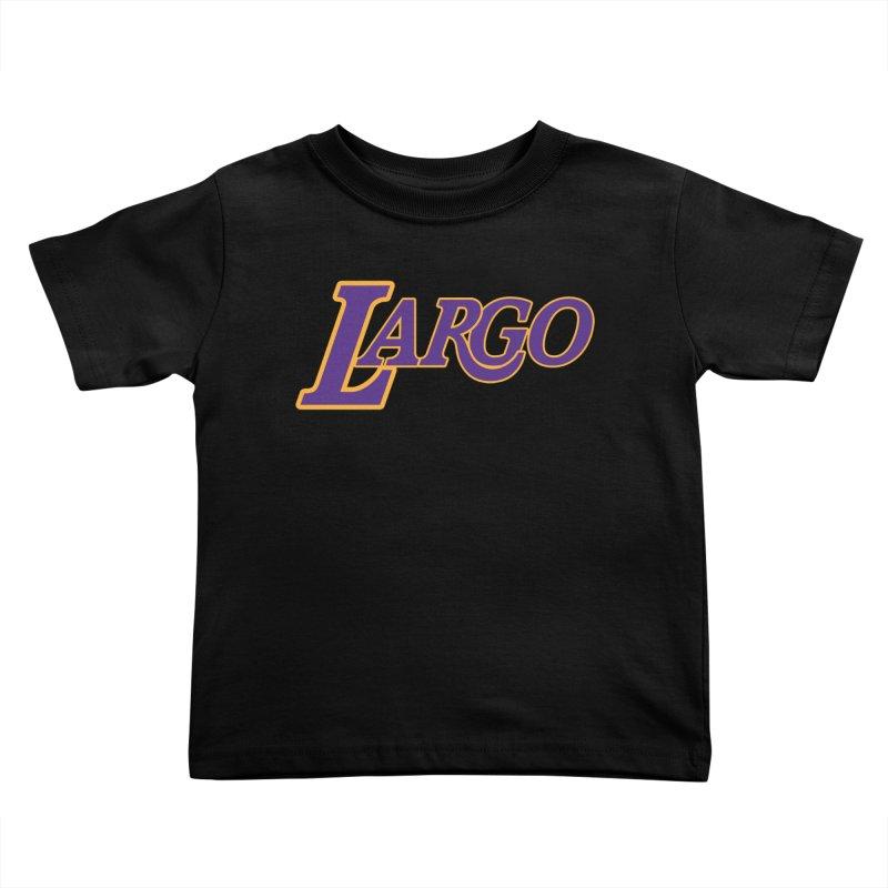 Laaaaargo Kids Toddler T-Shirt by Mike Hampton's T-Shirt Shop
