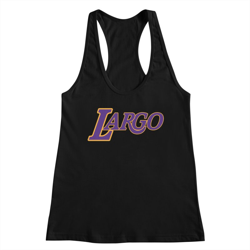 Laaaaargo Women's Tank by Mike Hampton's T-Shirt Shop