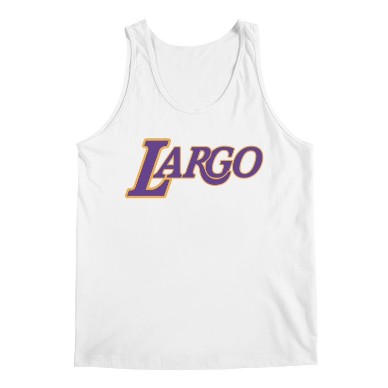 Laaaaargo Men's Tank by Mike Hampton's T-Shirt Shop