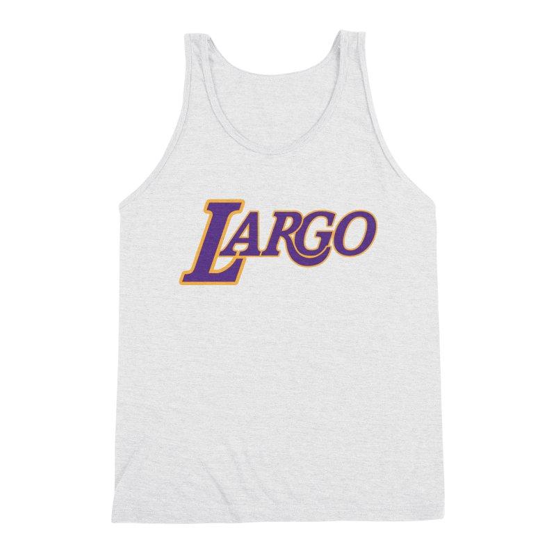 Laaaaargo Men's Triblend Tank by Mike Hampton's T-Shirt Shop