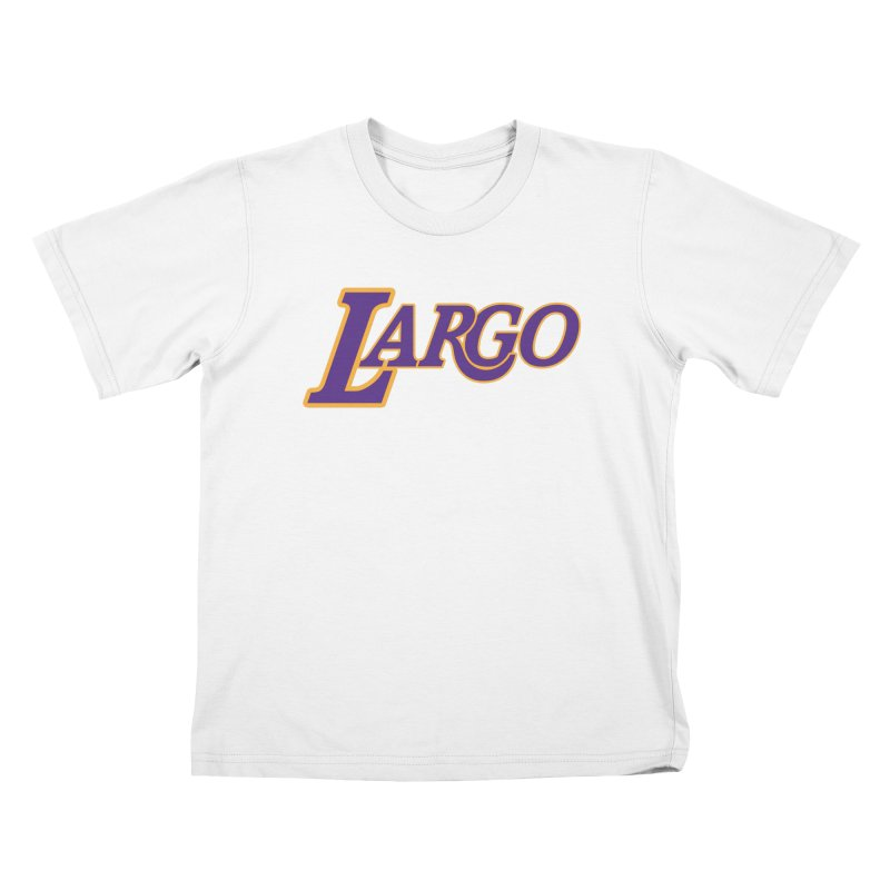 Laaaaargo Kids T-Shirt by Mike Hampton's T-Shirt Shop