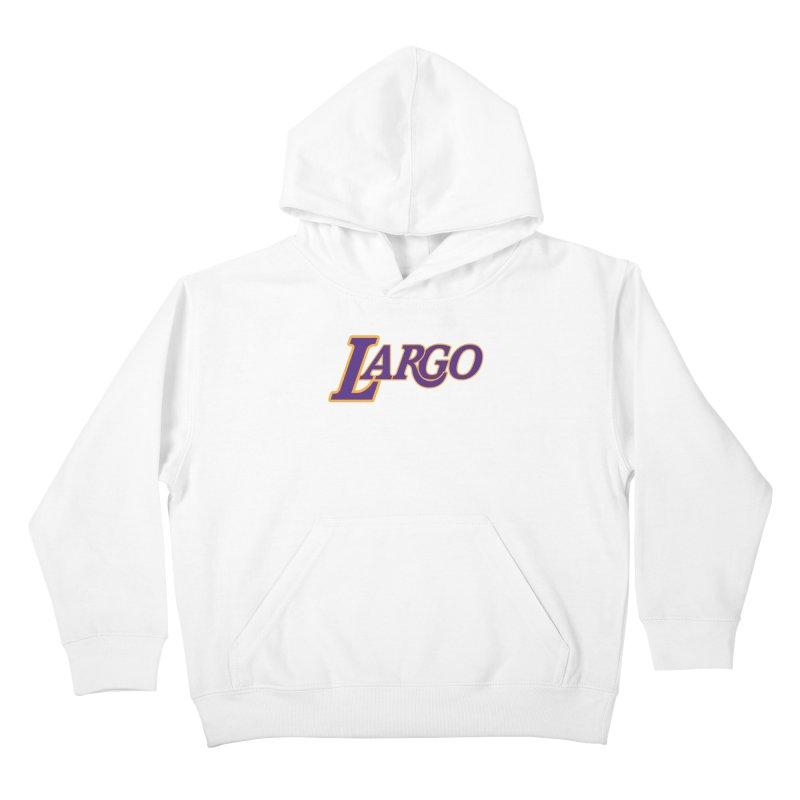 Laaaaargo Kids Pullover Hoody by Mike Hampton's T-Shirt Shop