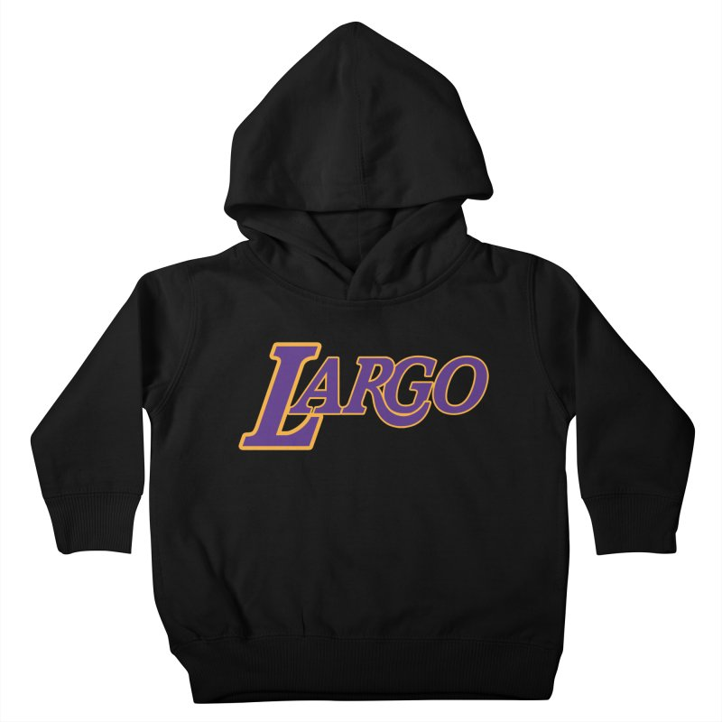 Laaaaargo Kids Toddler Pullover Hoody by Mike Hampton's T-Shirt Shop