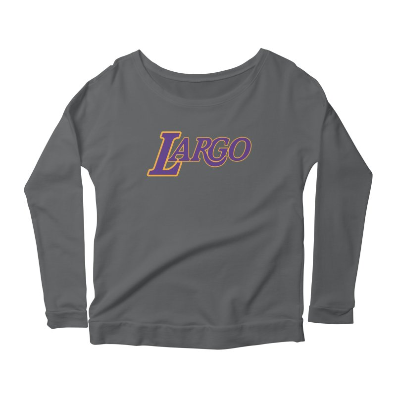 Laaaaargo Women's Longsleeve T-Shirt by Mike Hampton's T-Shirt Shop
