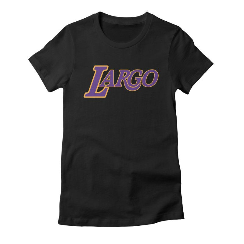 Laaaaargo Women's T-Shirt by Mike Hampton's T-Shirt Shop