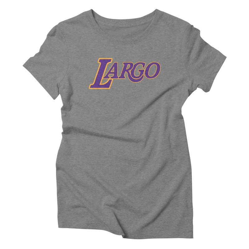 Laaaaargo Women's Triblend T-Shirt by Mike Hampton's T-Shirt Shop