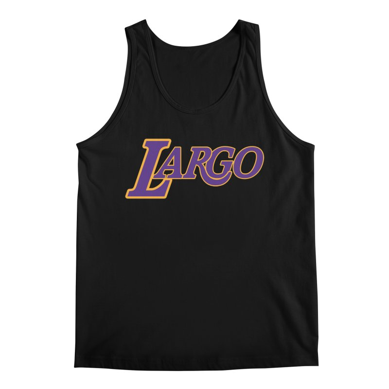 Laaaaargo Men's Regular Tank by Mike Hampton's T-Shirt Shop