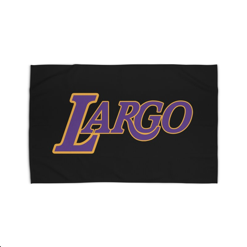 Laaaaargo Home Rug by Mike Hampton's T-Shirt Shop