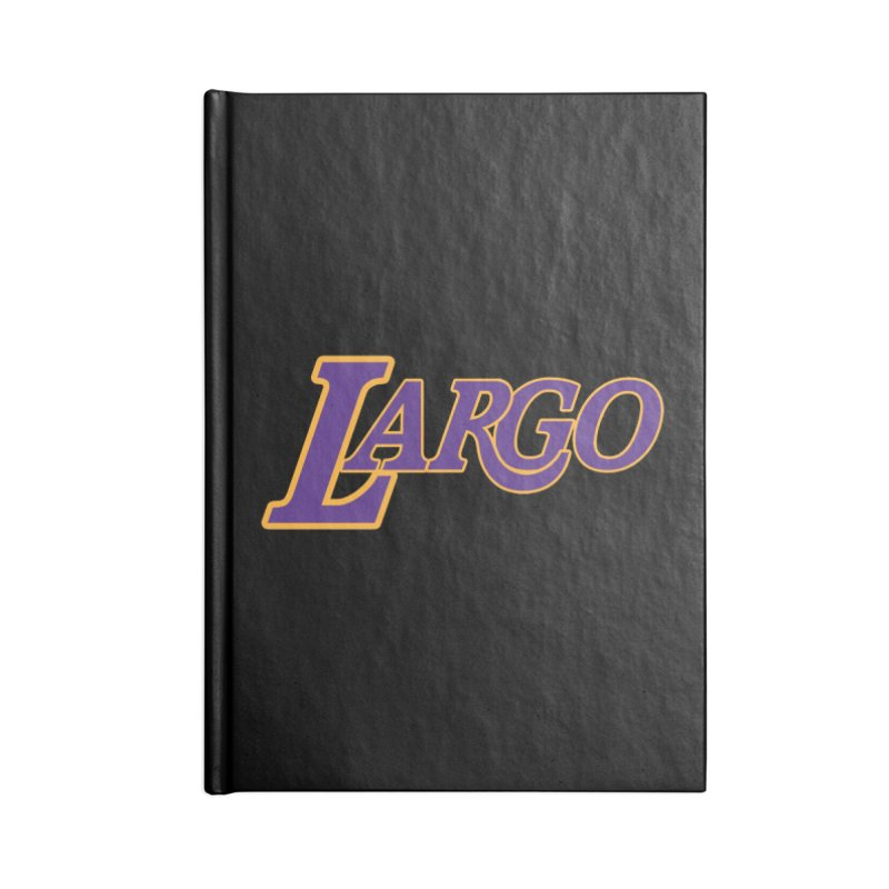 Laaaaargo Accessories Notebook by Mike Hampton's T-Shirt Shop