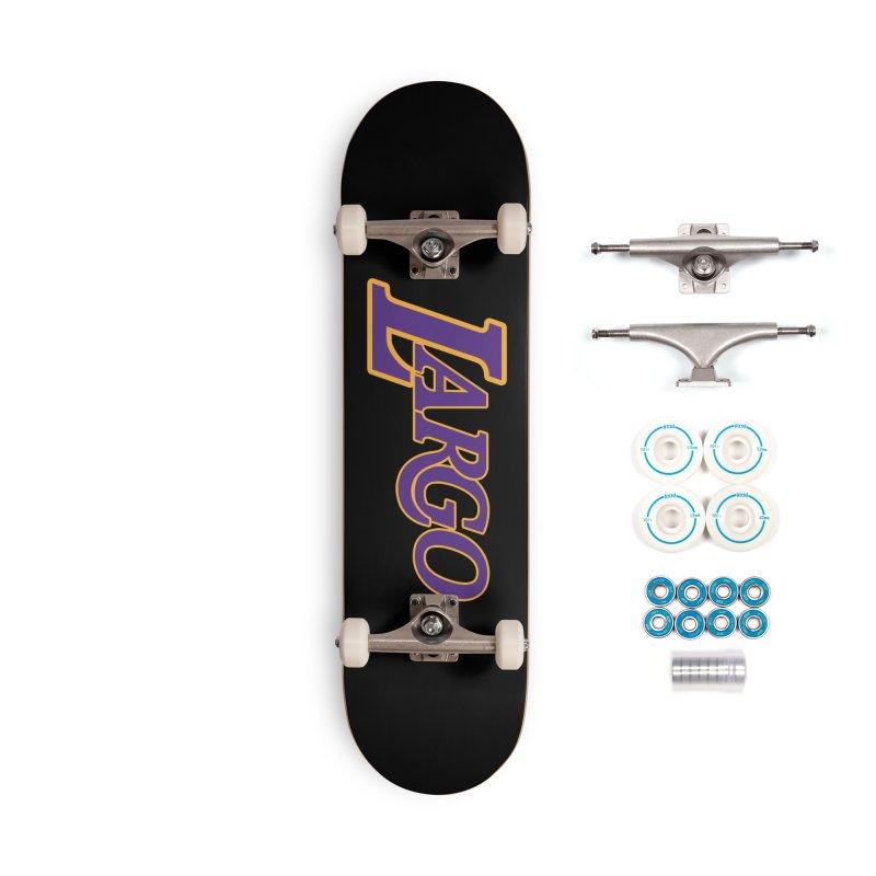 Laaaaargo Accessories Complete - Basic Skateboard by Mike Hampton's T-Shirt Shop