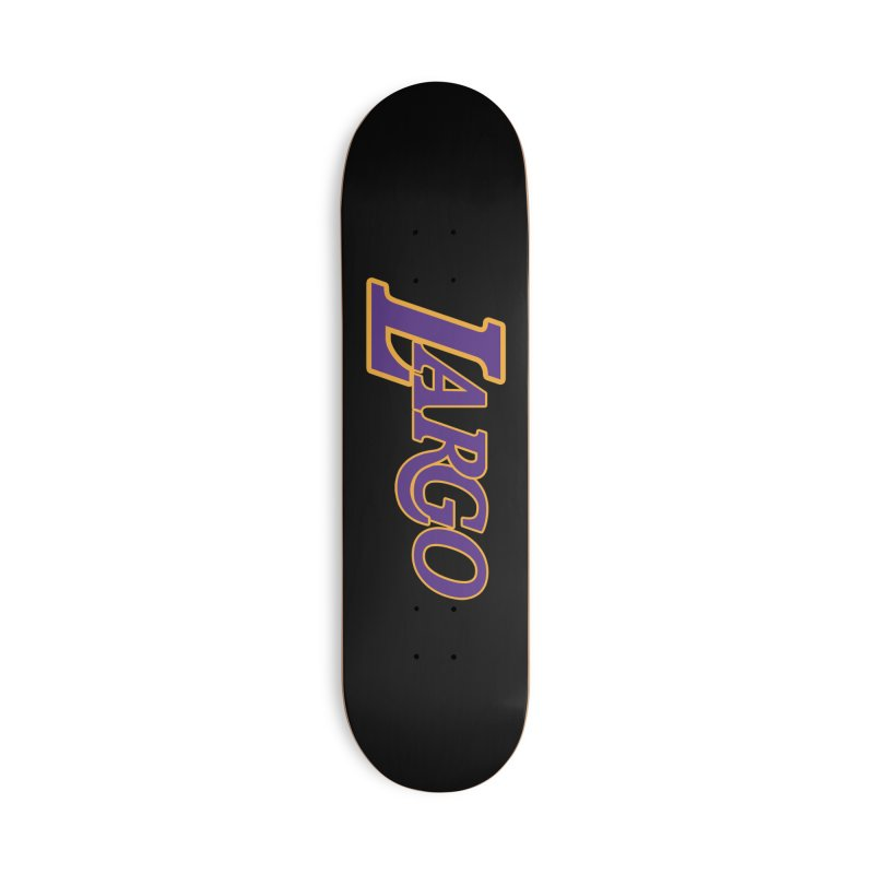 Laaaaargo Accessories Deck Only Skateboard by Mike Hampton's T-Shirt Shop