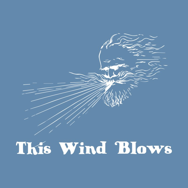 This Wind Blows Men's V-Neck by Mike Hampton's T-Shirt Shop