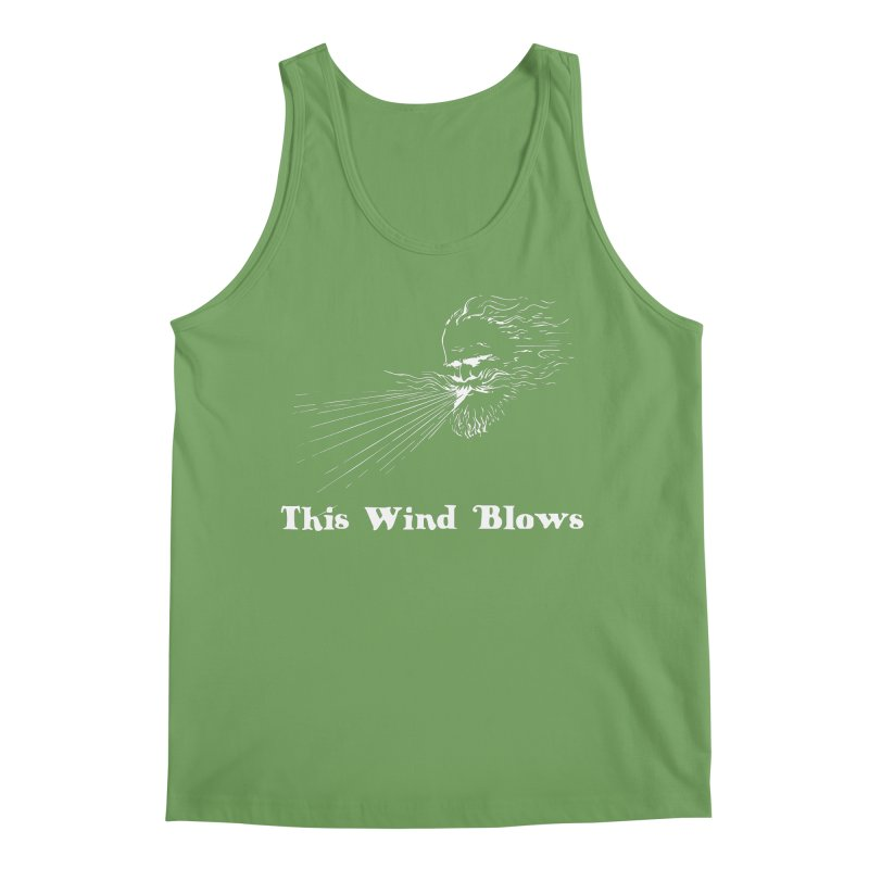 This Wind Blows Men's Tank by Mike Hampton's T-Shirt Shop