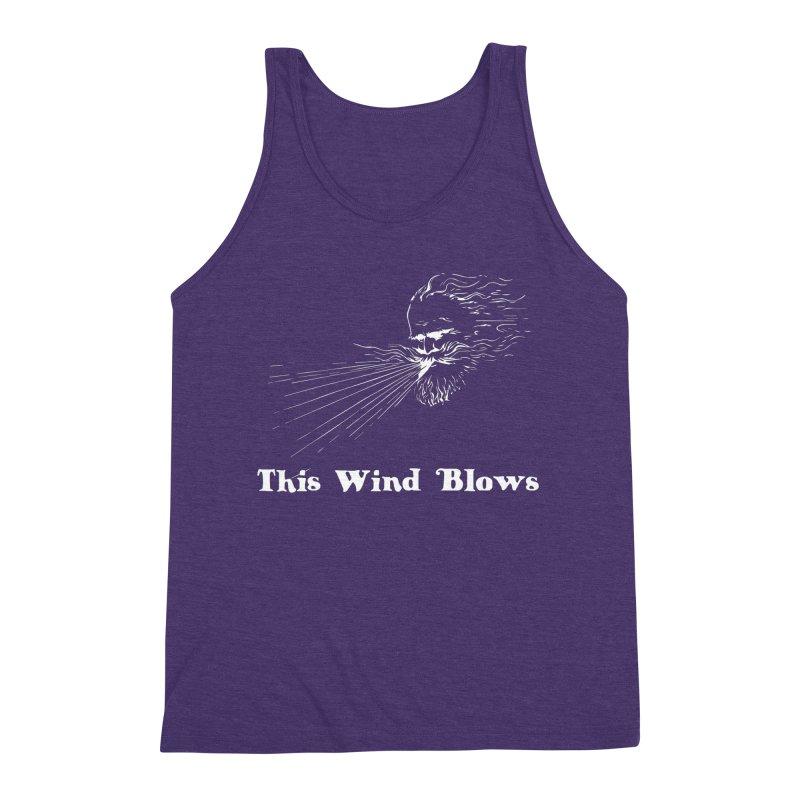This Wind Blows Men's Triblend Tank by Mike Hampton's T-Shirt Shop